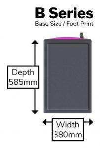 B Series - Foot Print-min
