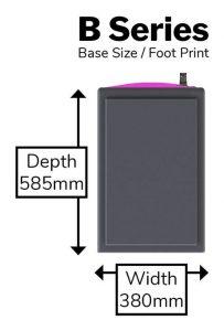 B Series - Foot Print@0,75x-min