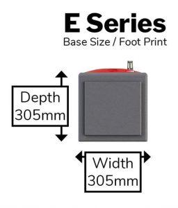 E Series - Foot Print@0,75x-min
