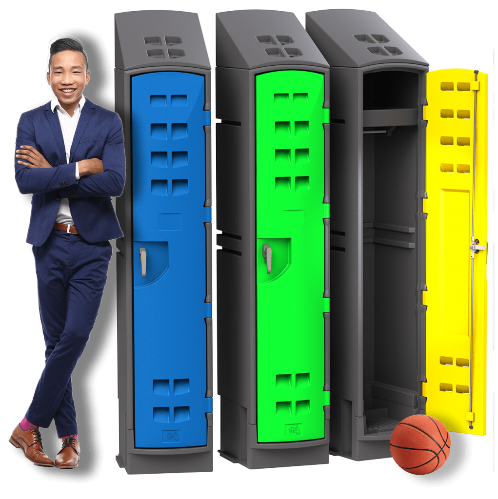 OL1800 Locker with man and ball 1250px
