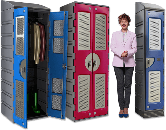 Wardrobe Locker Range